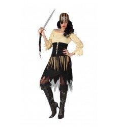 Disfraz de Mujer Pirata Adulta