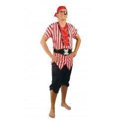 Disfraz de Pirata de Ultramar Adulto