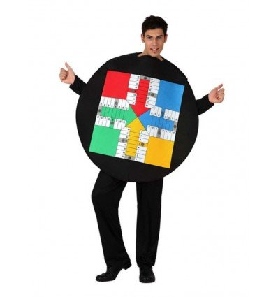 Disfraz de Tablero de Parchis Adulto
