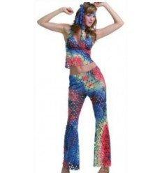 Disfraz de Chica Hippie Sexy Adulta