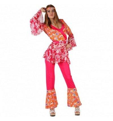Disfraz de Chica Hippie Adulta