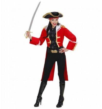 Disfraz de Chica Capitán Pirata Adulta