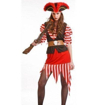 Disfraz de Pirata Mujer Adulta
