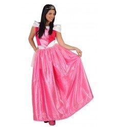 Disfraz de Dama de Cuento Rosa Adulta