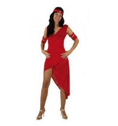 Disfraz de Romana Rojo Adulta