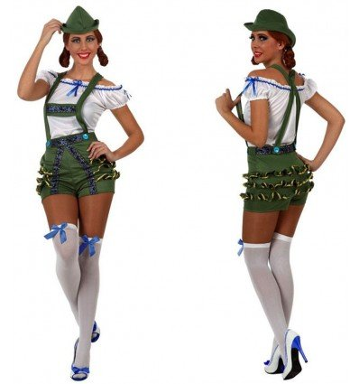 Disfraz de Alemana Tradicional Adulta