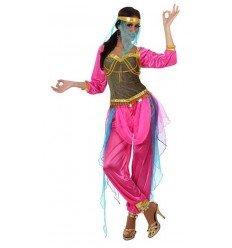 Disfraz de Bailarina Árabe Rosa Adulta