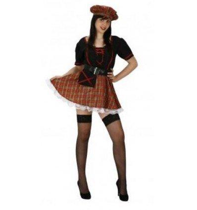 Disfraz de Escocesa Sexy Adulta