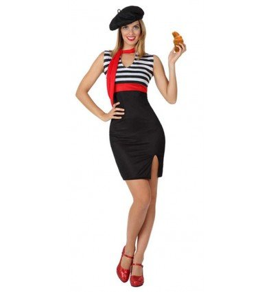 Disfraz de Francesa Adulta