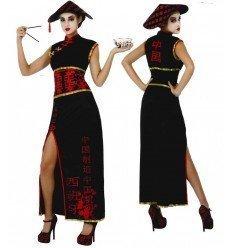 Disfraz de China en Negro
