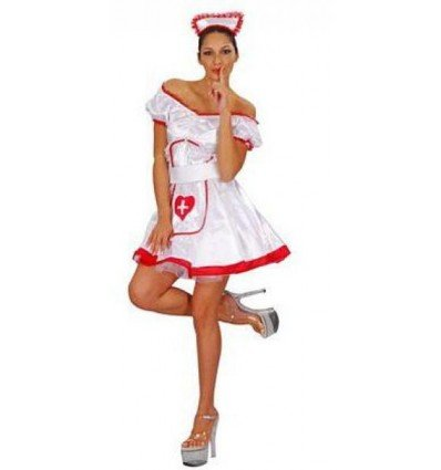 Disfraz de Enfermera Adulta
