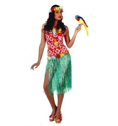 Disfraz de Hawaiana Adulta