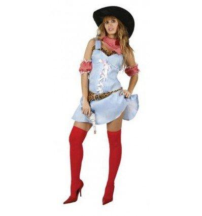 Disfraz de Vaquera Adulta