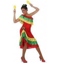 Disfraz de Bailarina de Rumba Adulto