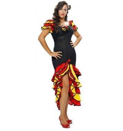 Disfraz de Bailarina de Flamenco/Rumba Adulta