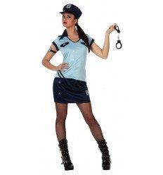 Disfraz de Chica Policía Adulta
