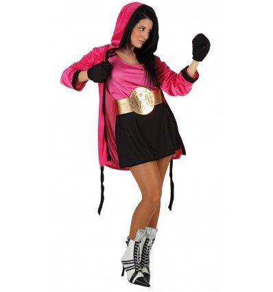 Disfraz de Boxeadora Adulta