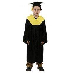 Disfraz de Licenciado Amarillo Infantil