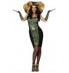 Disfraz de Mujer Serpiente Adulta