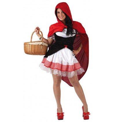Disfraz de Caperucita Roja Sexy Adulta