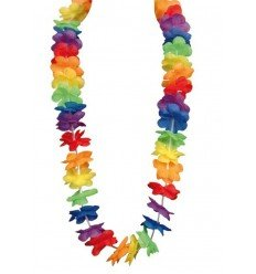 Collar Hawaiano Arcoiris