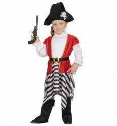 Disfraz de Niña Pirata Bebé