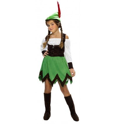 Disfrazde Robin Hood Niña Infantil