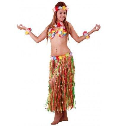 Conjunto Hawaiana 5 Piezas Adulto