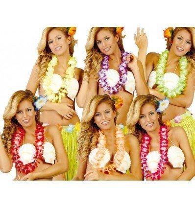 Collar Hawaiano de Colores Surtidos