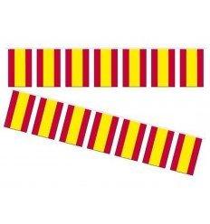Banderas de España de Plástico 10 metros 20x30