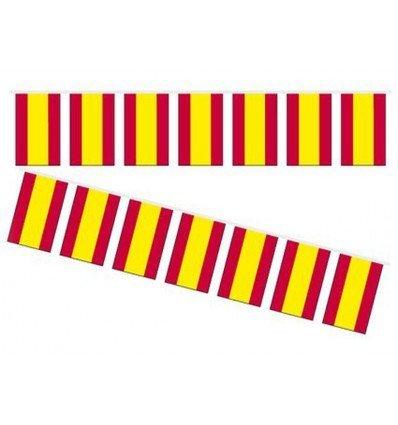Bandera de Plastico 20x30 B/50M ESPAÑA
