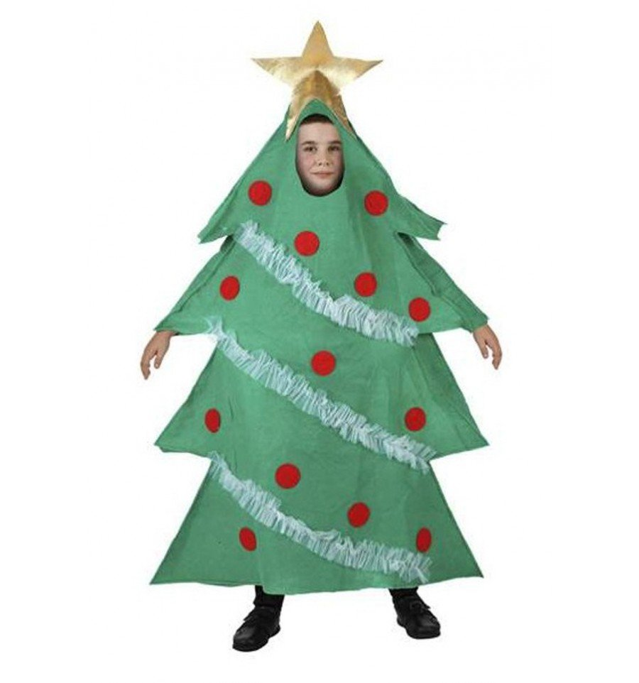 Disfraz de rbol de navidad infantil - Arbol navidad infantil ...